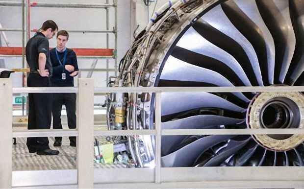 Двигатель Trent XWB, является шестым поколением двигателей серии Trent