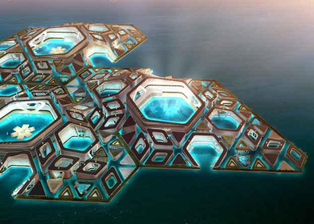 Гексагональные самодостаточные  модули города