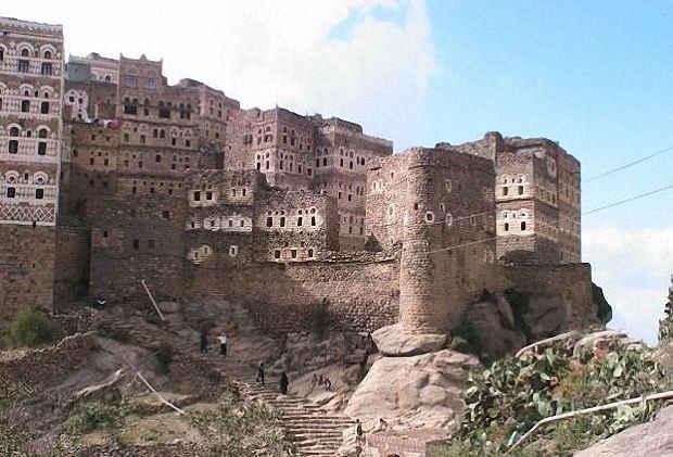 Селение Аль-Хаджара в горах Хараз