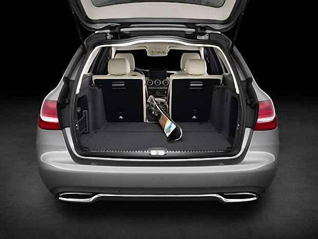 Увеличенный багажник в новом Mercedes-Benz