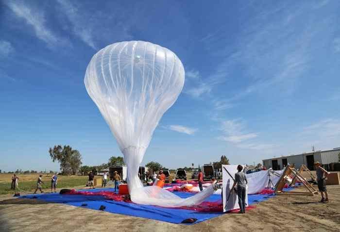Полиэтиленовая оболочка воздушного шара