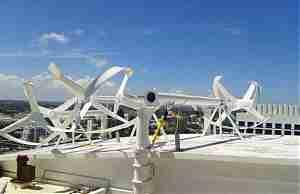 Монтаж ветровых турбин в Hilton Fort Lauderdale Beach