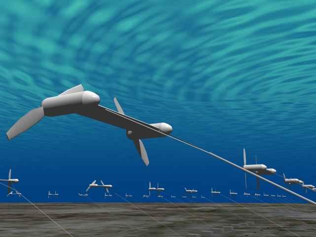 Подводные змеи для сбора энергии океана