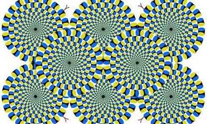 Иллюзия японского психиатра Акиоши Китаока