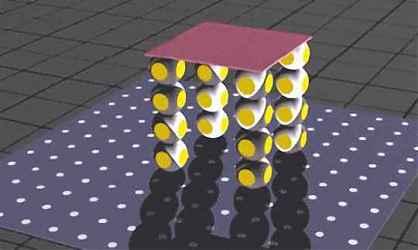 Модульный робот принял форму стола