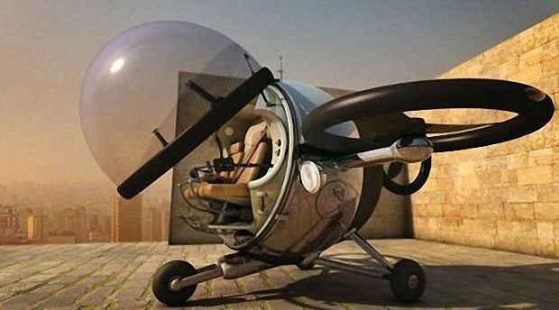 Ситикоптер будущего Fly Citycopter
