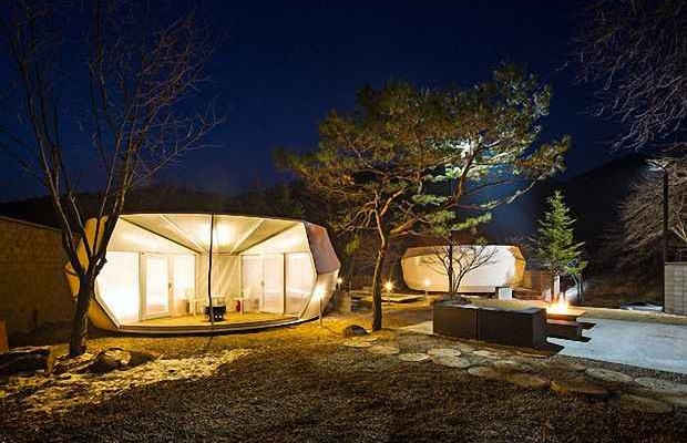 Палаточный лагерь Glamping for Glampers