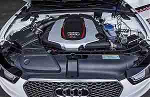 Электрическая турбина для двигателя Audi
