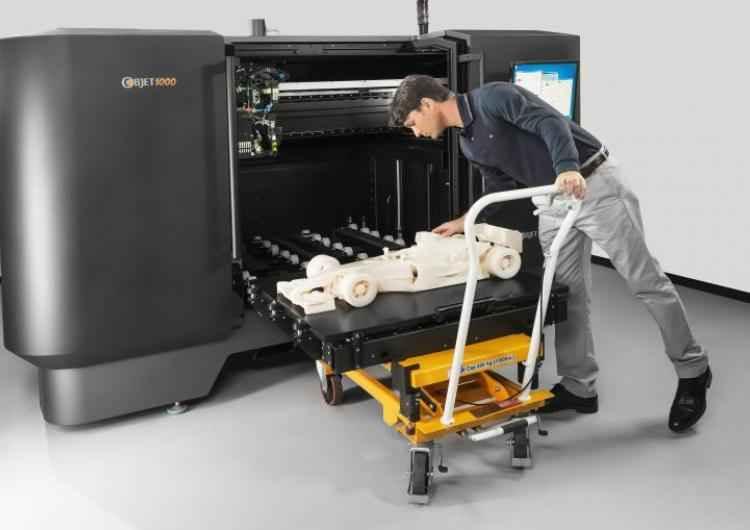 Трехмерный 3D принтер Objet1000