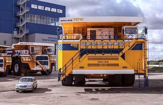 Самый большой автомобиль в мире БелАЗ 75710