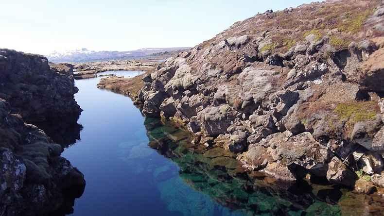 Ущелье Силфра в национальном парке Тингвеллир (Thingvellir)