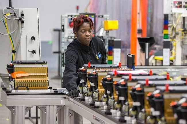 Батареи на основе разработок LG Chem